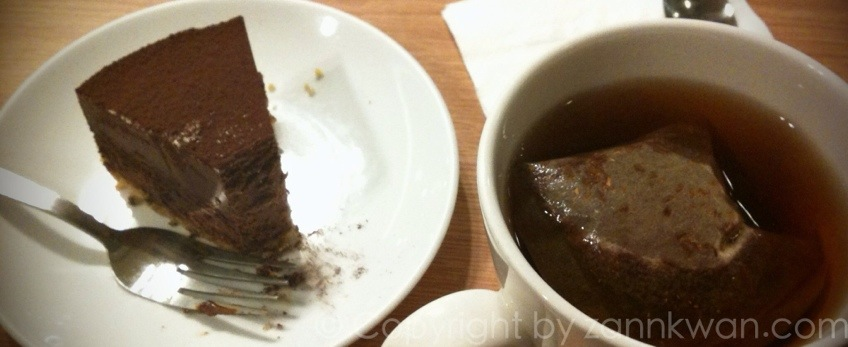The Luxury of Cake and Tea